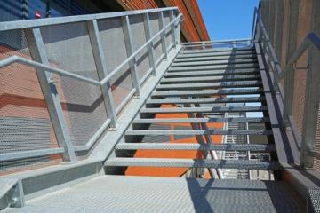 Escalier mtallique extrieur